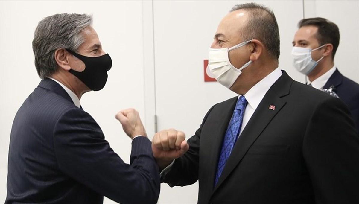 SON DAKİKA: Dışişleri Bakanı Çavuşoğlu, ABD'li mevkidaşı Blinken ile görüştü