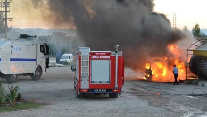 Şırnak'ta yakıt tankeri patladı: 1 ölü, 2 yaralı
