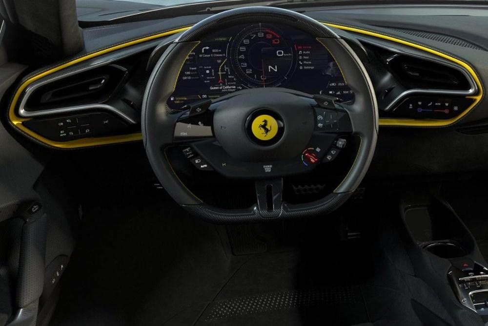 830 beygirlik hibrit Ferrari 296 GTB tanıtıldı - 12
