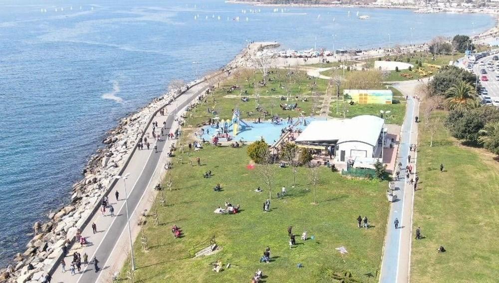 Kademeli normalleşmede 2. hafta sonu: Sahil ve parklar doldu - 3