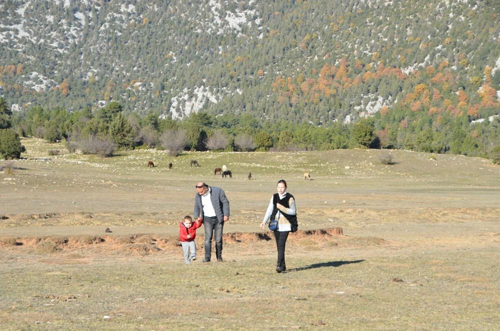 Soyları Osmanlı süvari birliğine dayanıyor! Torosların vahşi güzelliği 'Yılkı atları' - 21