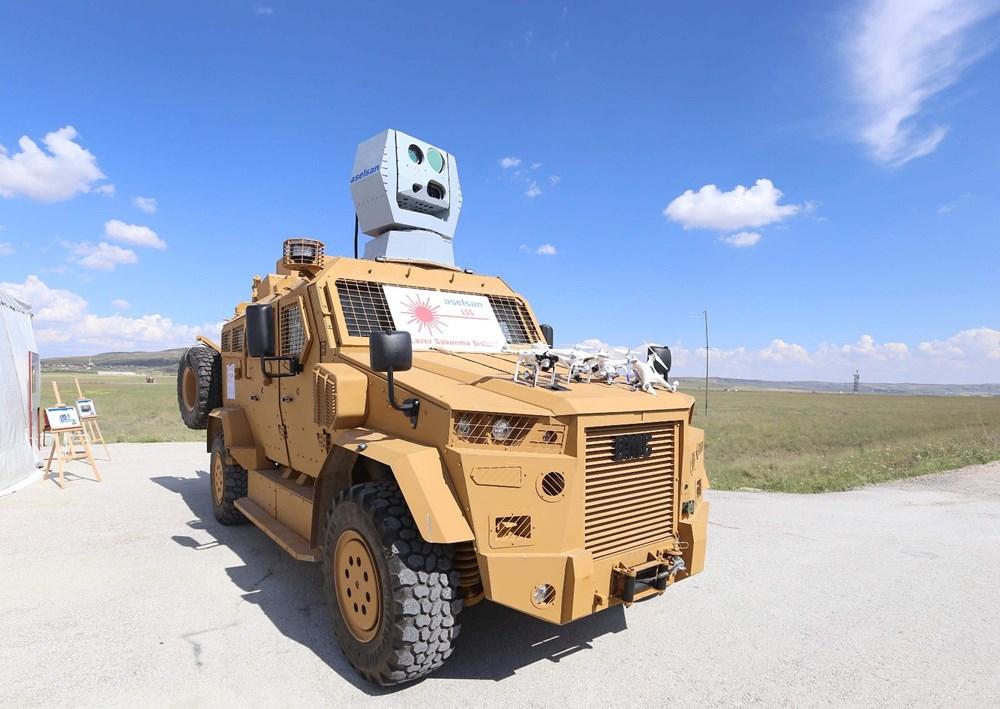 Dijital birliğin robot askeri Barkan göreve hazırlanıyor (Türkiye'nin yeni nesil yerli silahları) - 240