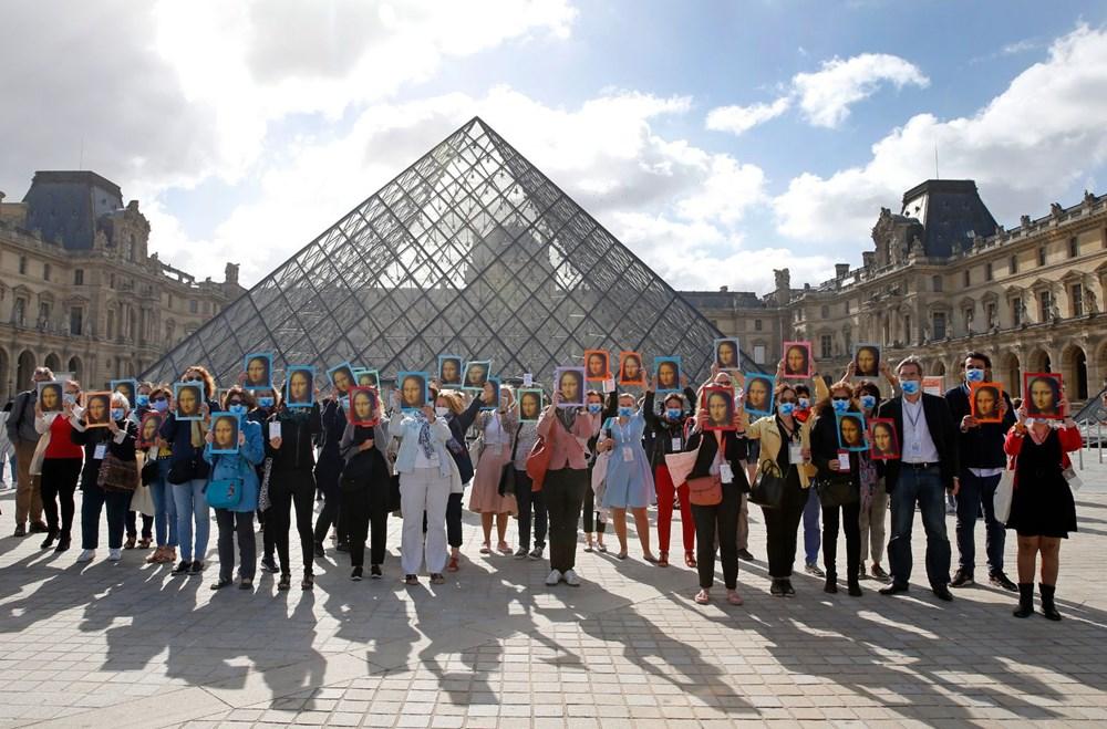 Louvre Müzesi yeniden açıldı (40 milyon euro'luk kayıp) - 9