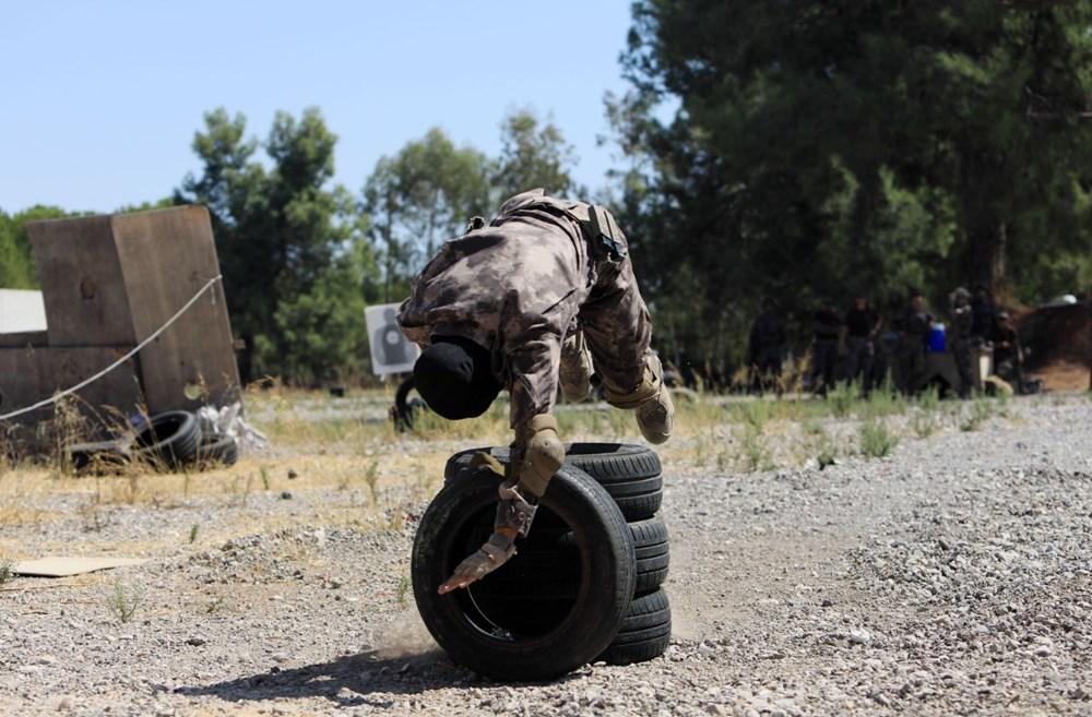 Özel Harekat'tan 35 derece sıcakta zorlu eğitim: Yerli silah 'Çılgın kız' dikkat çekti - 5