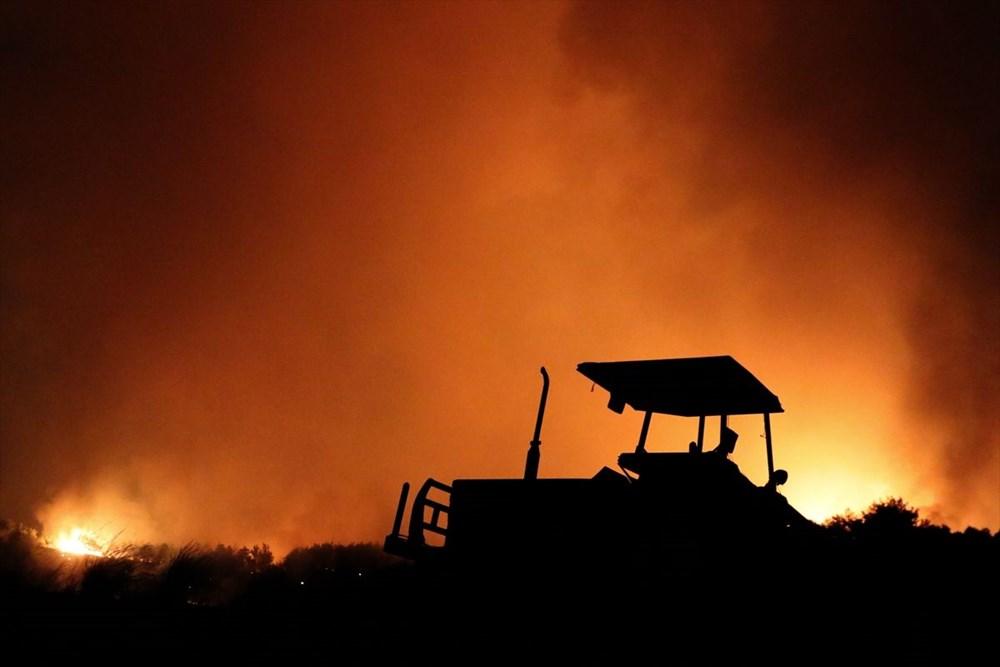 Antalya, Adana, Mersin, Aydın, Muğla, Osmaniye, Kayseri ve Manisa'da orman yangınları - 43