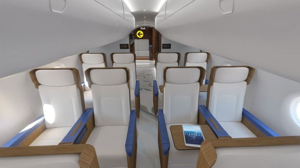 ABD Başkanları için hazırlanan süpersonik uçak 2030 yılında kullanıma hazır olacak - 5