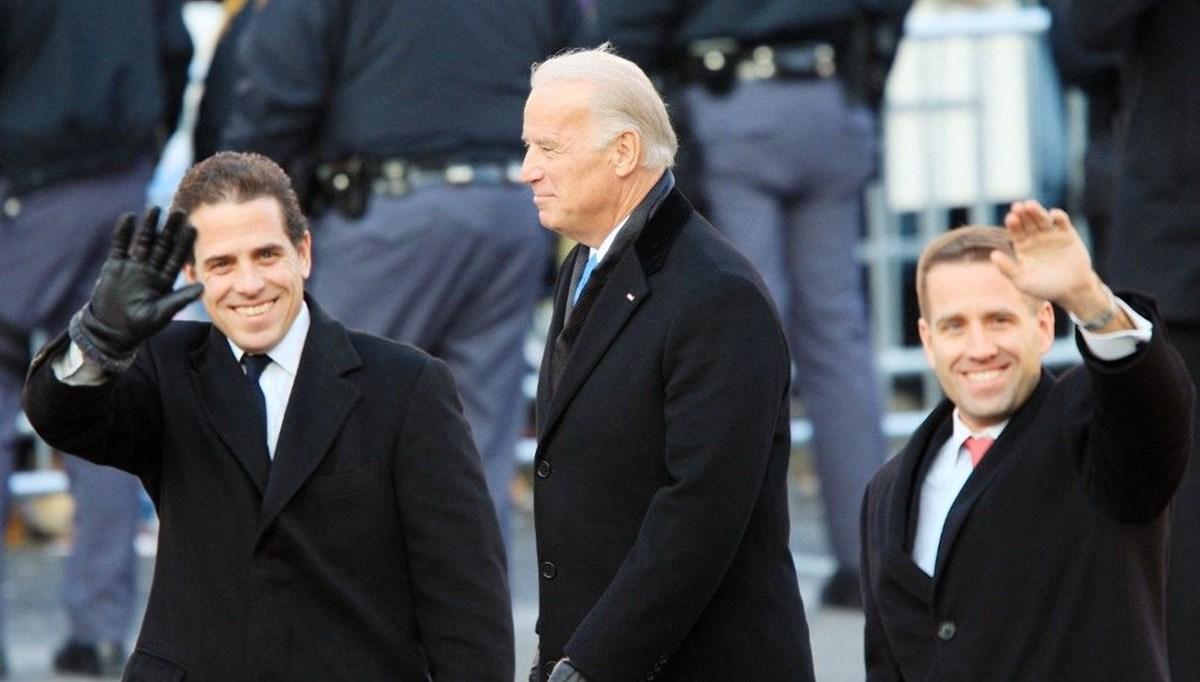Hunter Biden otel faturasını Joe Biden'ın hesabından ödedi