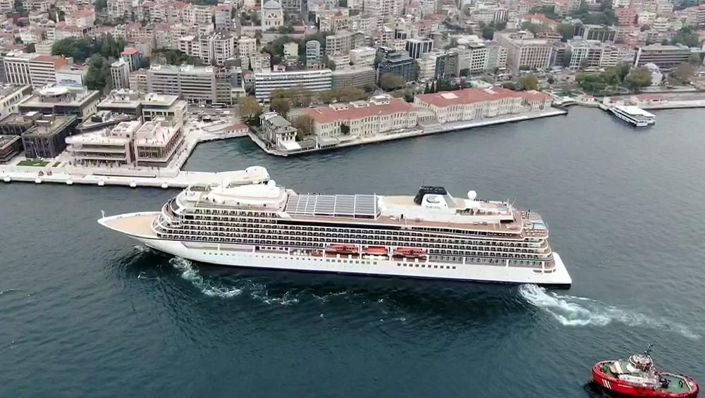 Galataport İstanbul'a ikinci yolcu gemisi demir attı - 4