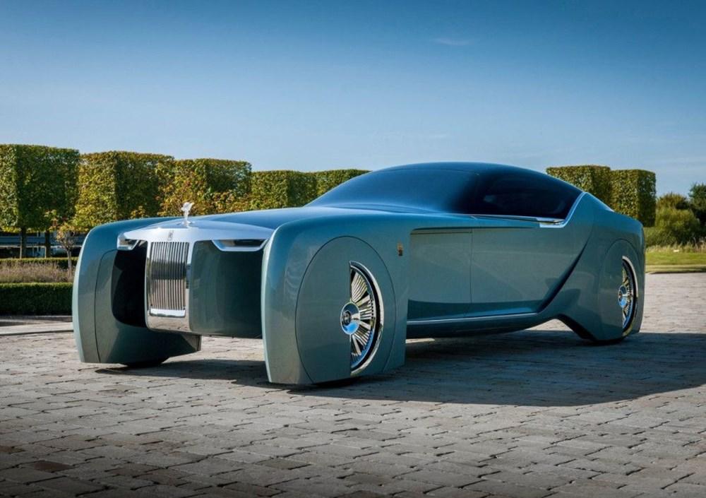 Rolls-Royce'un ilk elektrikli otomobili: İsmi açıklandı - 1