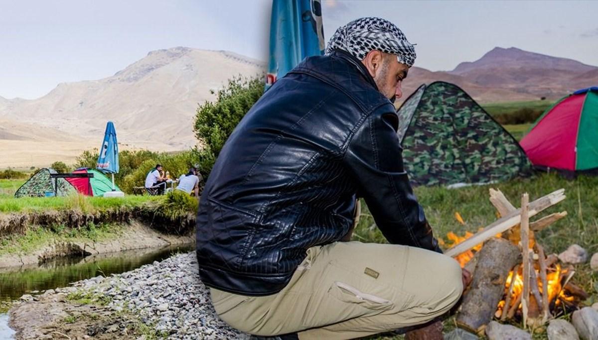 Şırnak'ta huzura kavuşan Faraşin Yaylası doğal güzellikleriyle kampçıların gözdesi oldu