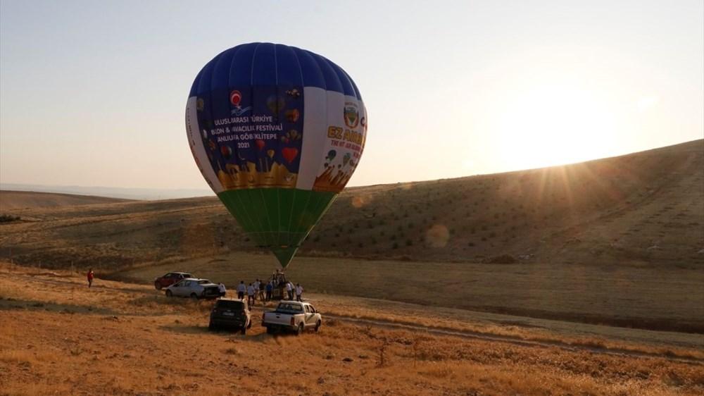 'Tarihin sıfır noktası' Göbeklitepe balonla havadan da gezilebilecek - 5