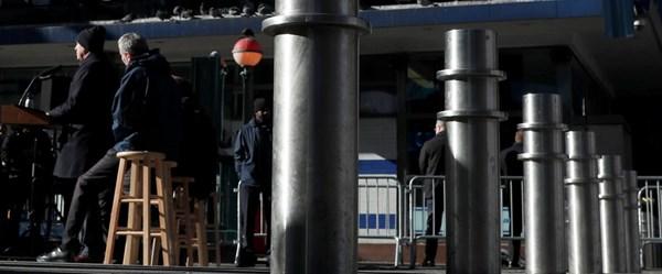 New York'ta terör olaylarına bariyerli önlem