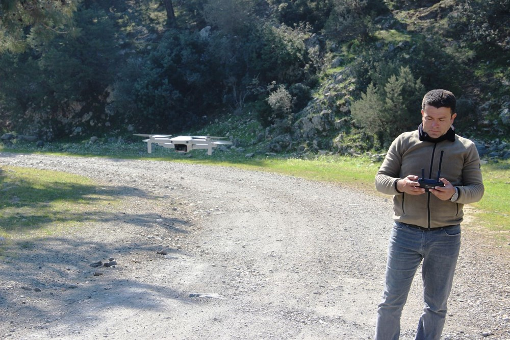 Bodrum'un drone'lu çobanı: Adım adım izliyor - 8