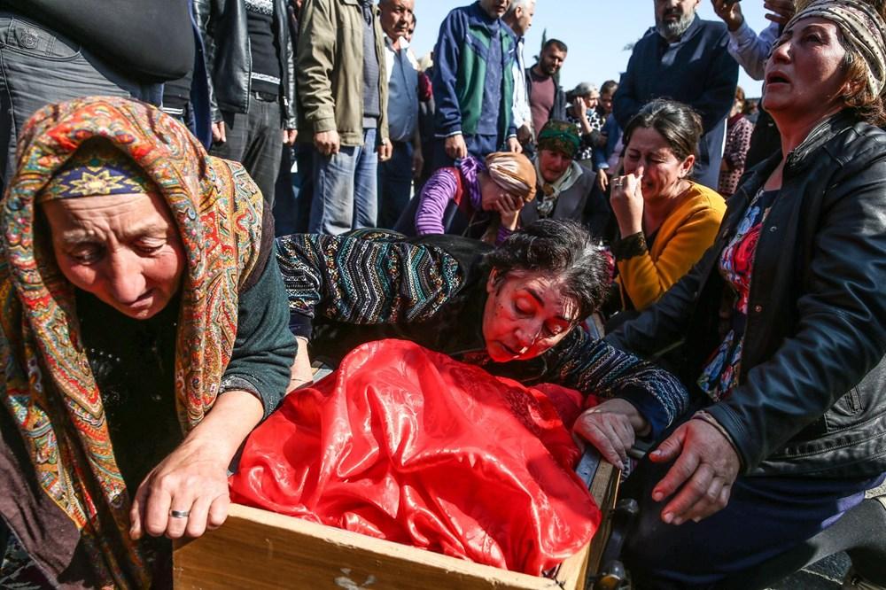 Hain saldırının küçük kurbanları: Cenazede gözyaşları sel oldu - 9