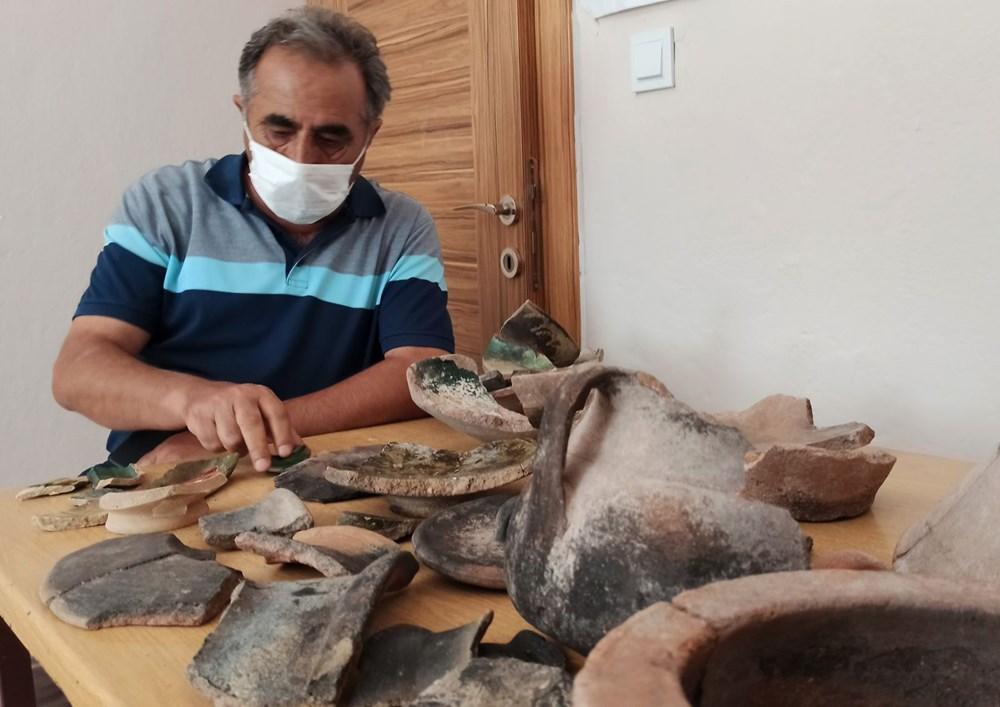 Ahlat İç Kale kazısında 5 bin 200 yıllık seramikler bulundu - 5