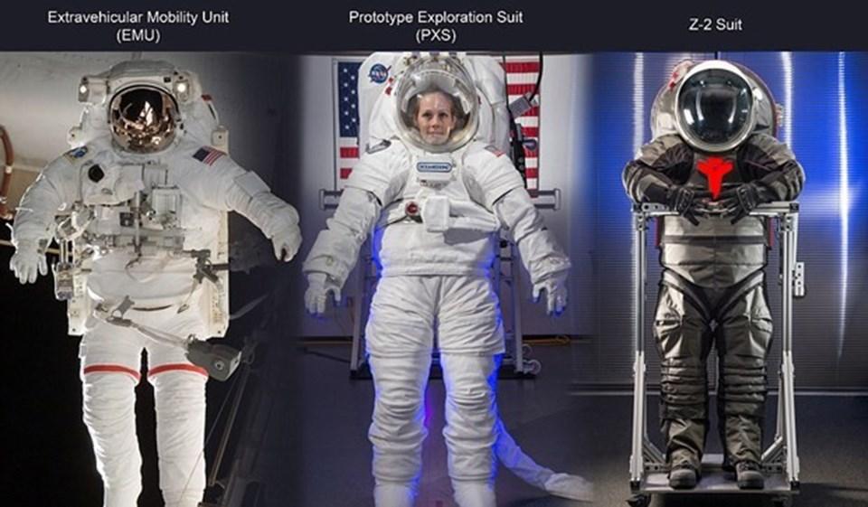 Uzay kıyafetlerinin 3D yazıcılardan üretilmesi ihtiyaç duyulması halinde yeni giysilerin Mars'taki modülde yapılabilmesine imkan sağlayacak.