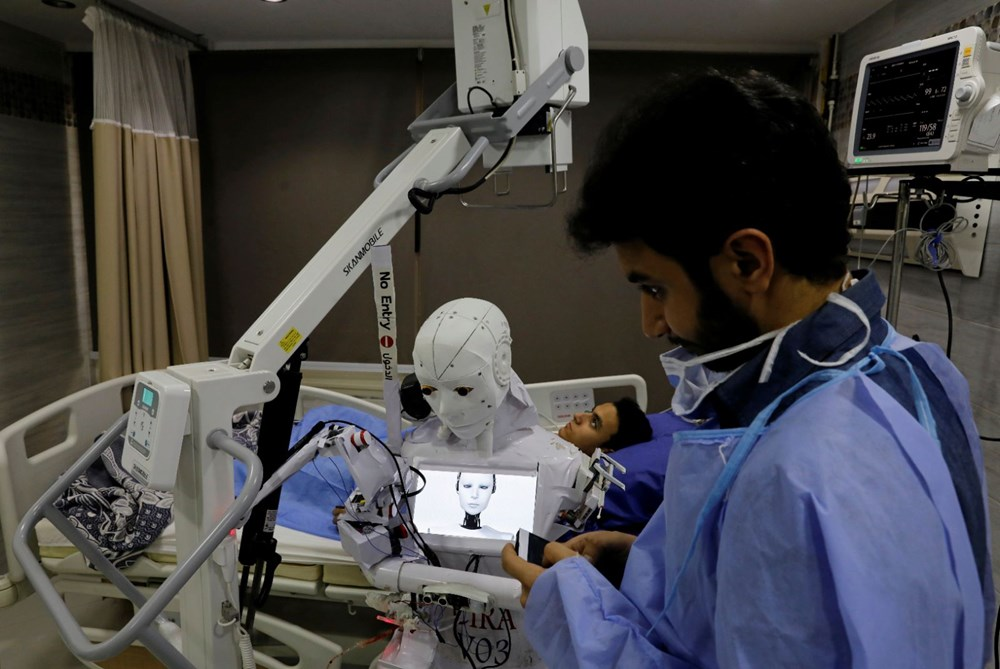 Mısır'da Covid-19'a karşı robotla mücadele - 6