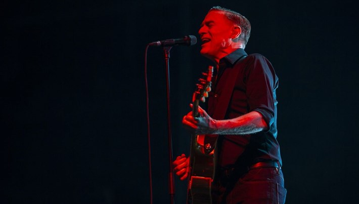 Bryan Adams, İstanbul'da konser verdi