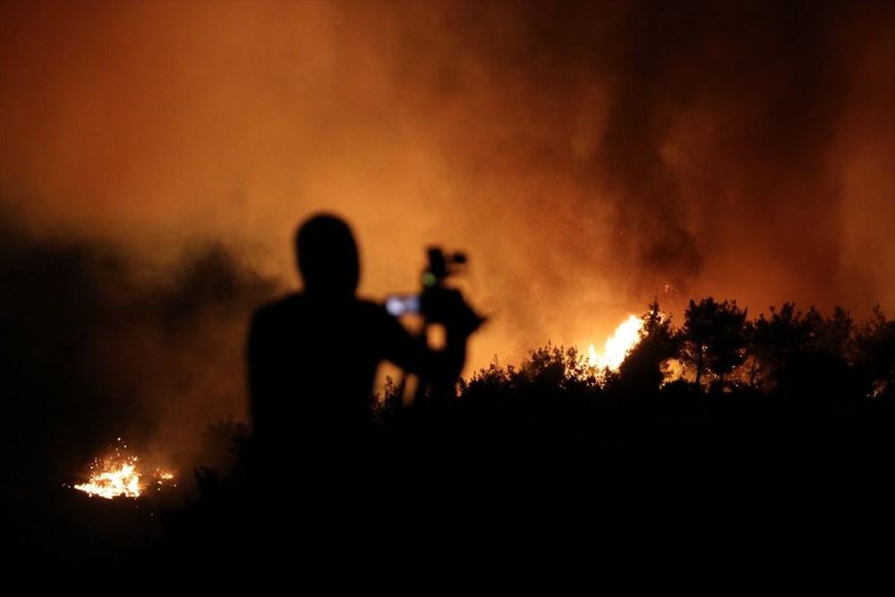 Antalya, Adana, Mersin, Aydın, Muğla, Osmaniye, Kayseri ve Manisa'da orman yangınları - 40