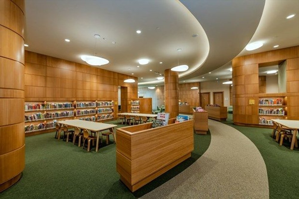 Cumhurbaşkanlığı Millet Kütüphanesi'ni 1 yılda yaklaşık 342 bin kişi ziyaret etti - 8