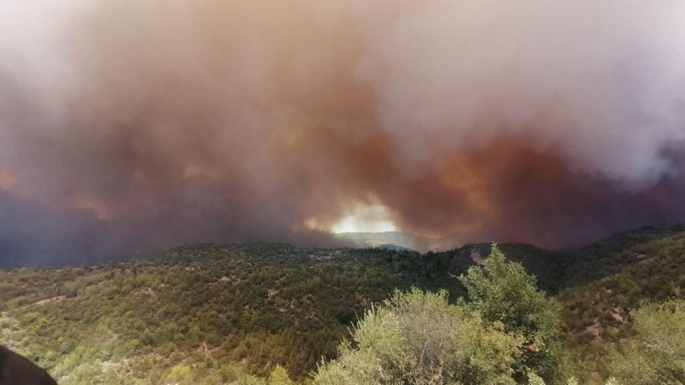 Antalya Manavgat'ta büyük orman yangını - 5