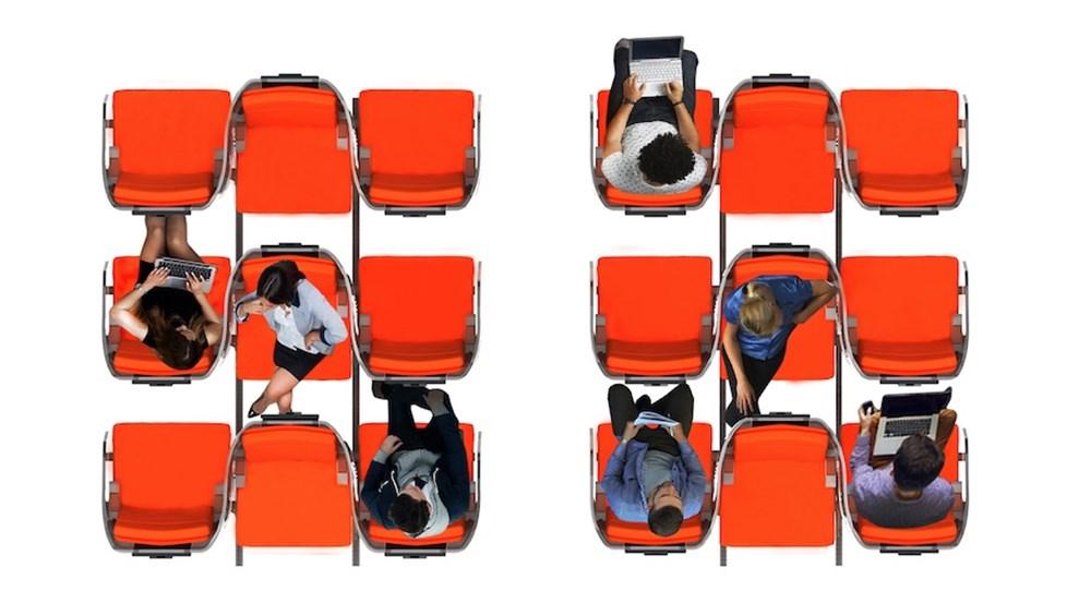 Corona virüs etkisi: Uçak yolculukları için yeni tasarım - 8