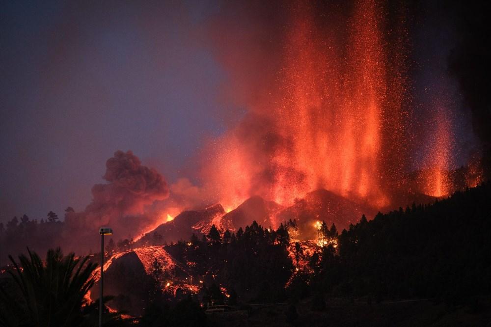 Kanarya Adaları'ndaki Cumbre Vieja yanardağı faaliyete geçti: 5 bin kişi tahliye ediliyor - 7