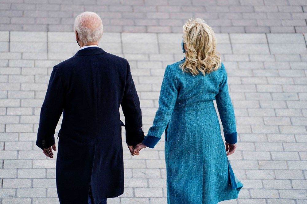 Joe Biden'ın yemin töreninden kareler (ABD'nin 46. Başkan Joe Biden göreve başladı) - 26