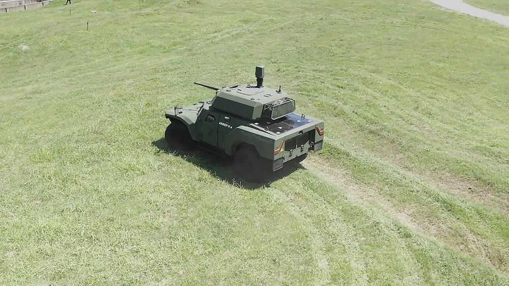 Dijital birliğin robot askeri Barkan göreve hazırlanıyor (Türkiye'nin yeni nesil yerli silahları) - 128