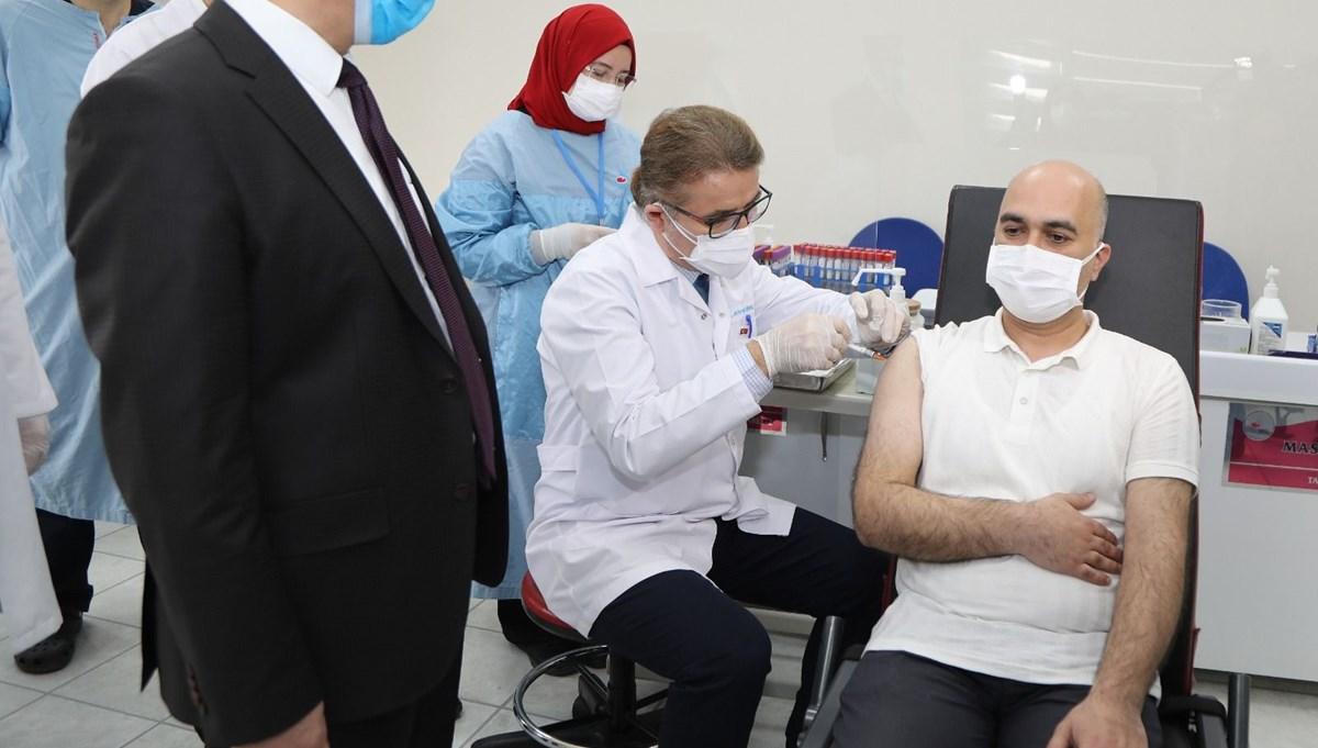 Yerli corona virüs aşısında Faz-2 dozları tamamlandı