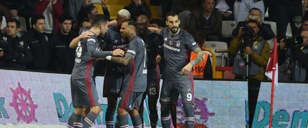 Beşiktaş, Antalya'dan 3 puanla dönüyor