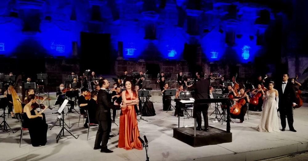 Aspendos Festivali, Genç Opera Yıldızları konseriyle sona erdi - 4