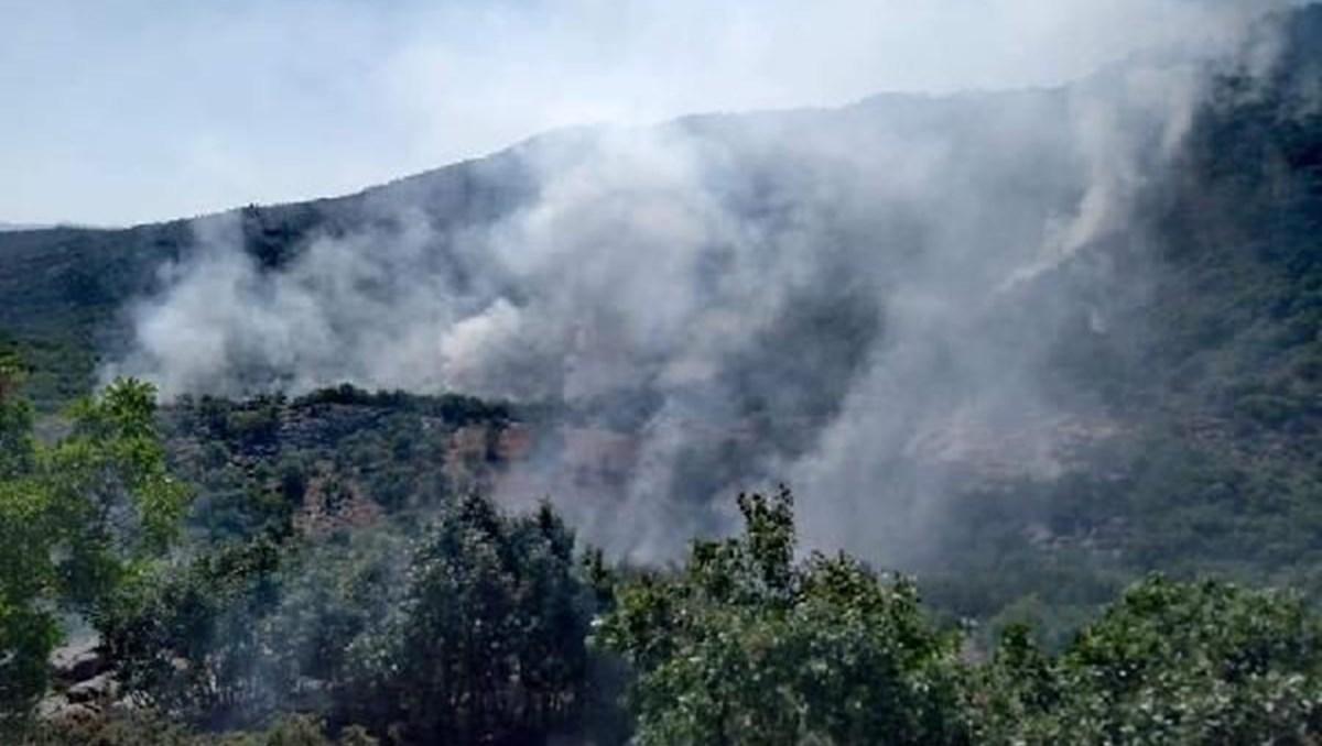 Görese Dağı 3 gündür yanıyor