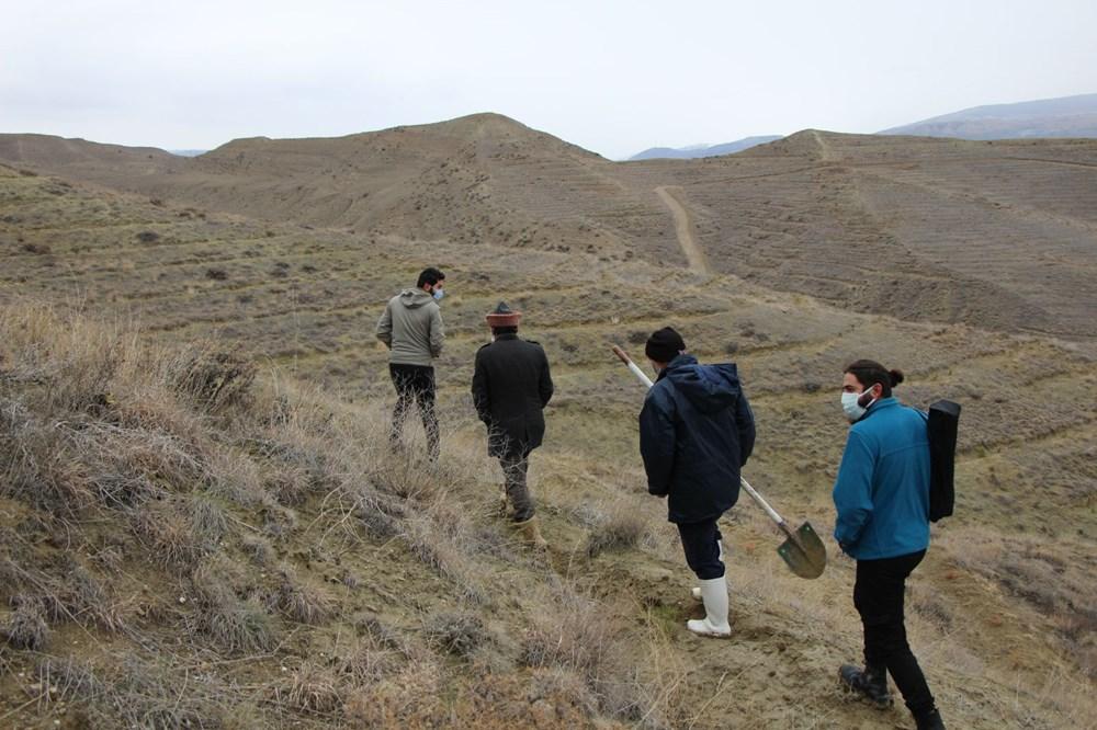 Amasya'da bulunan cisimler için mamut fosili heyecanı - 9