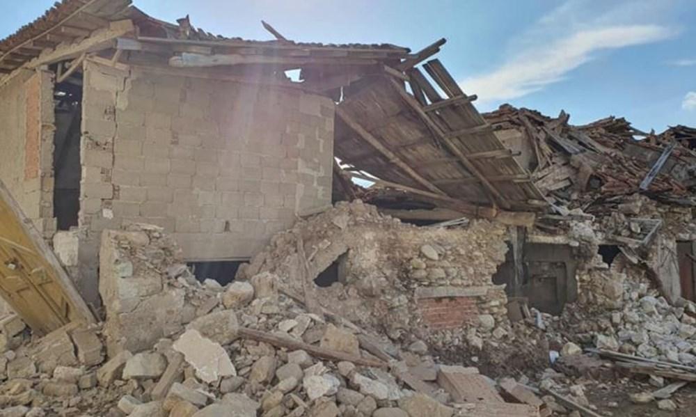 Depremin merkez üssü Yunan adası Sisam'dan ilk fotoğraflar - 12