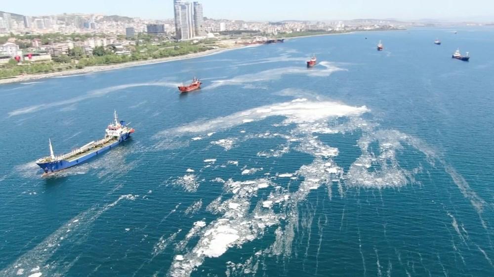 İstanbul sahillerini istila eden deniz salyalarında yoğunluk arttı - 3