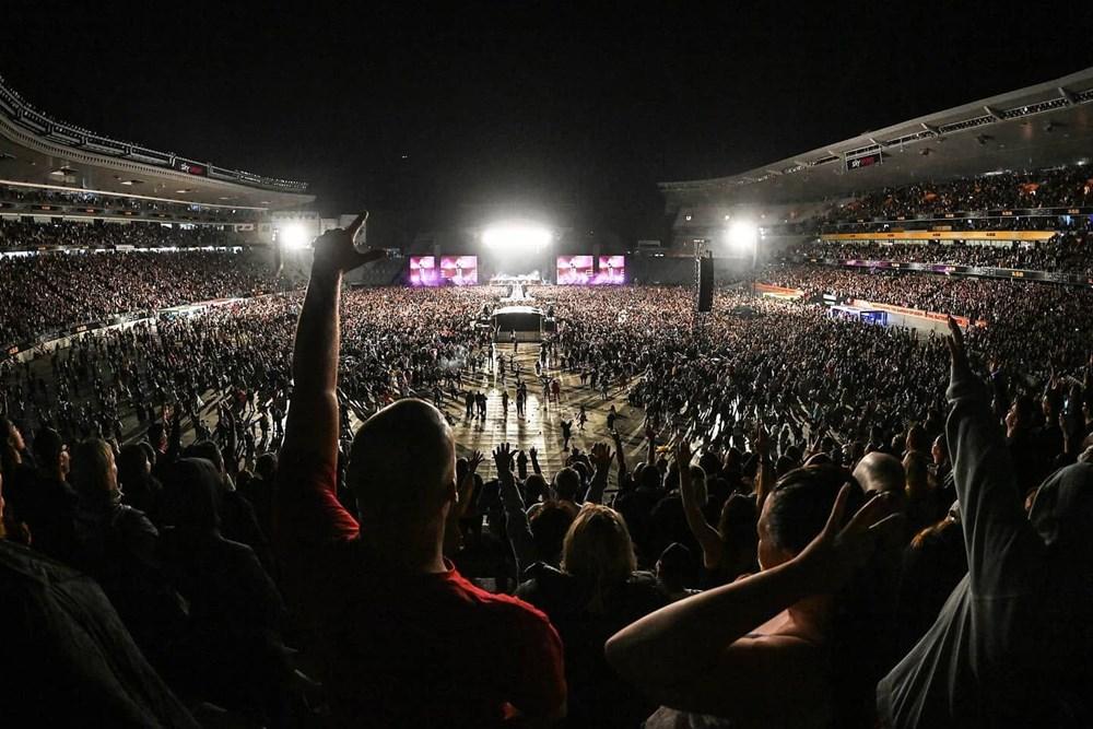 Dünya karantinadayken Yeni Zelanda'da 50 bin kişilik konser - 21