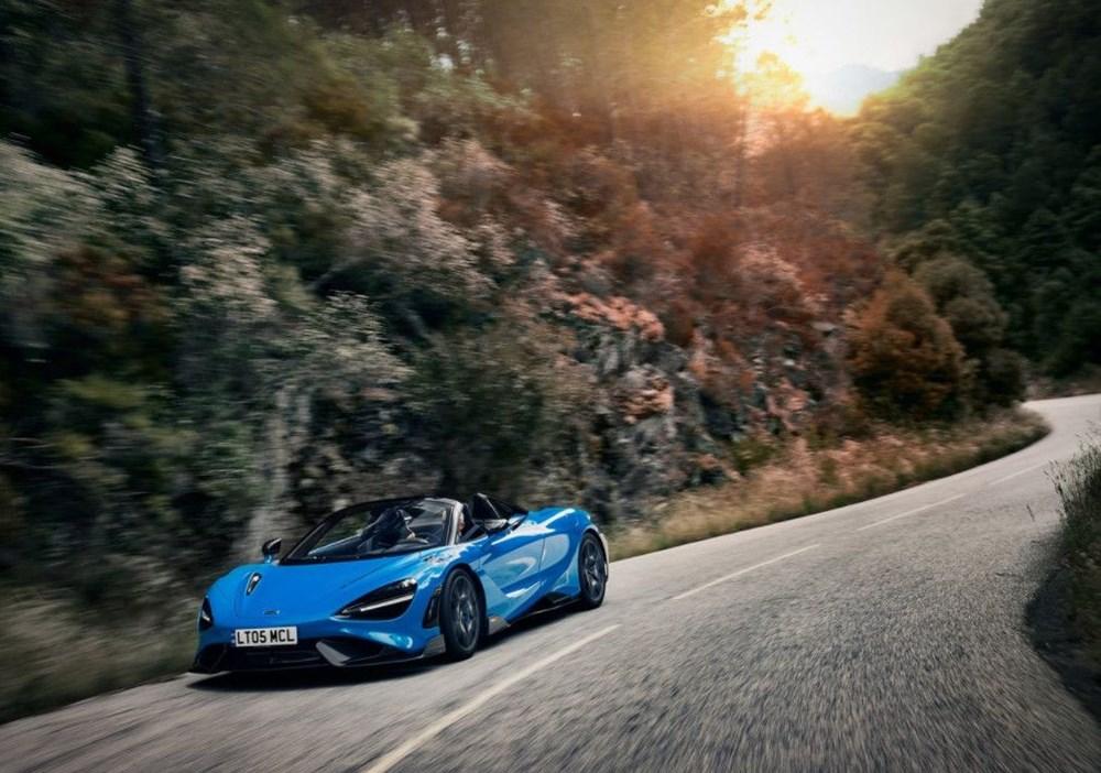 McLaren tarihinin en hızlı üstü açık modeli tanıtıldı:  765LT Spider - 2