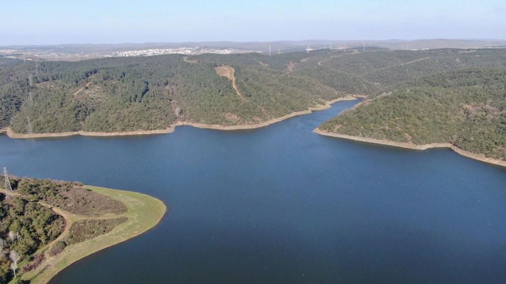 İstanbul'da barajların doluluk oranı yüzde 65'e ulaştı - 1