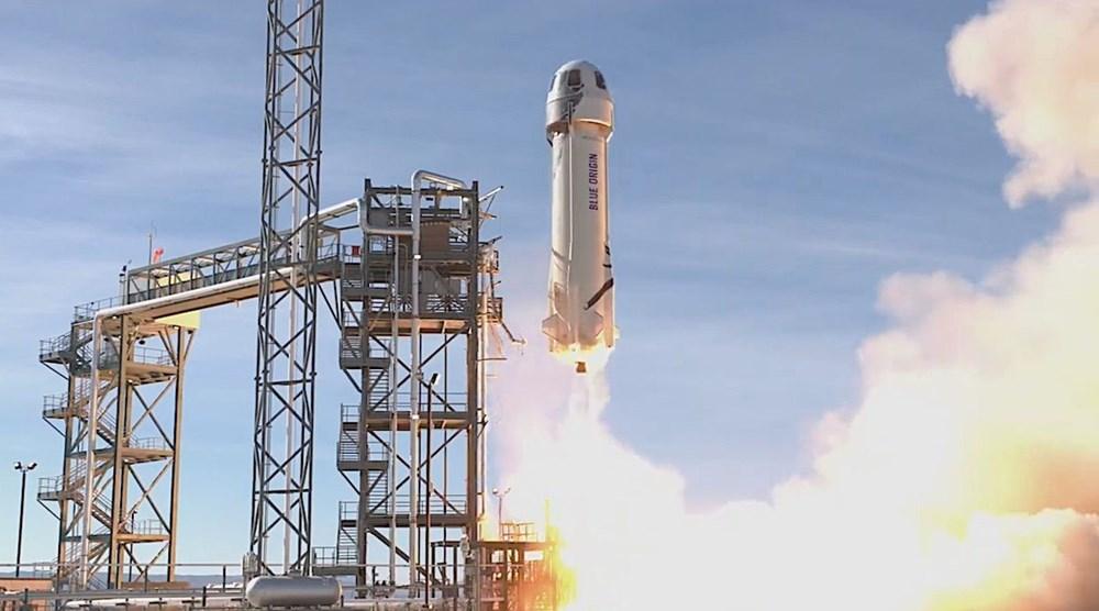 Blue Origin uzaya gitmek için verilen en yüksek teklifi açıkladı - 11