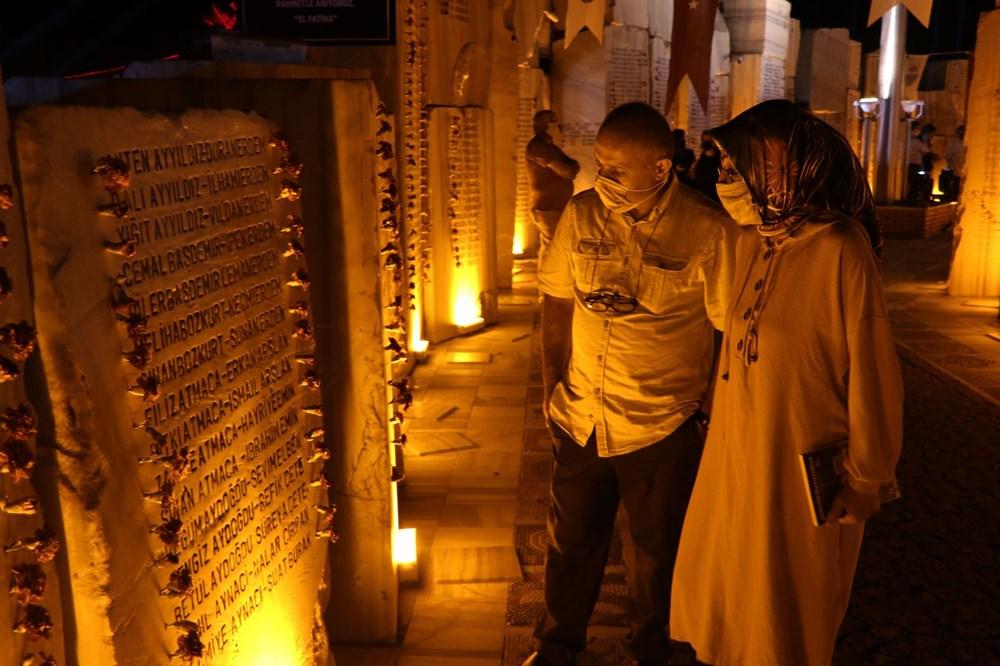 17 Ağustos depreminin 21. yılı: Hayatını kaybedenler törenle anıldı - 18