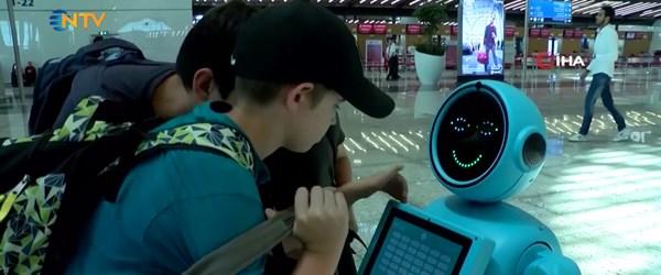 İstanbul Havalimanı'nda robot danışmanlar