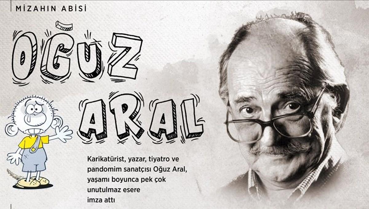 Karikatürün duayen ismi Oğuz Aral 17. ölüm yıl dönümünde anılıyor