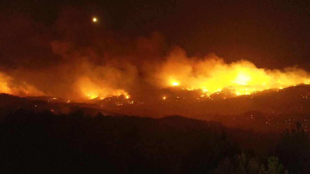 Adana'da orman yangını: 8 köy boşaltıldı - 9