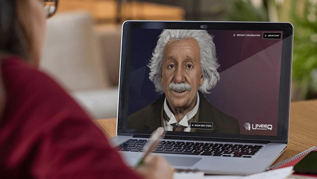 Ünlü fizikçi Albert Einstein dijital olarak hayata döndürüldü: Empati kuruyor, karmaşık fizik sorularını yanıtlıyor