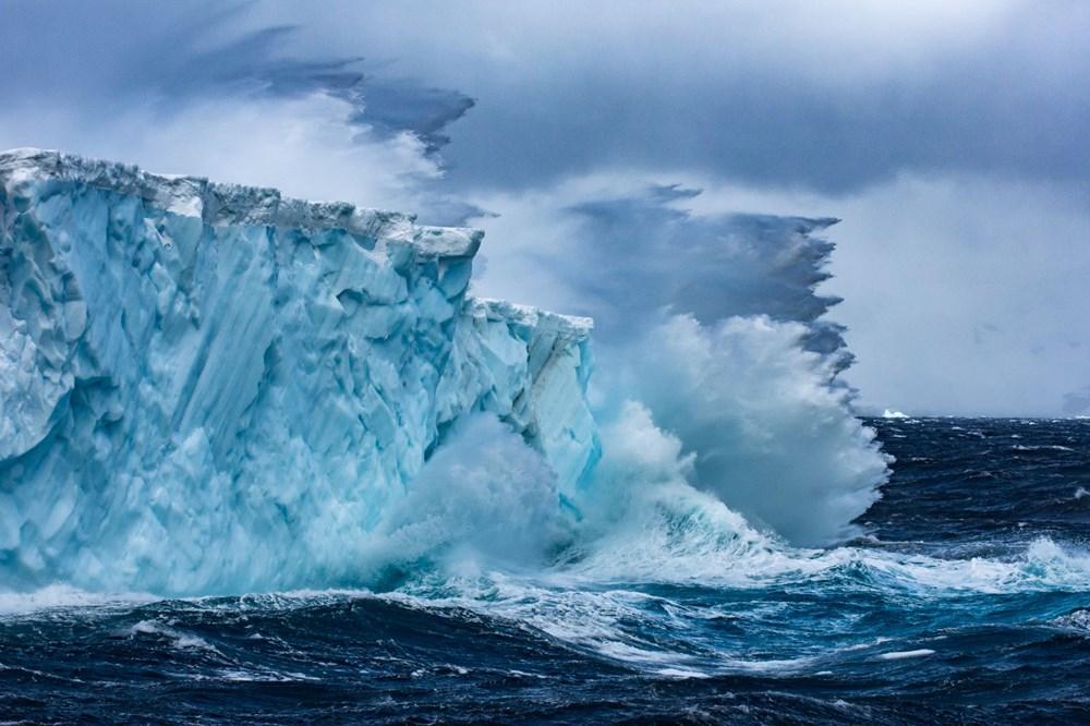 Dünyanın en büyük buzdağı Antarktika'dan koptu: Neredeyse İstanbul büyüklüğünde - 4