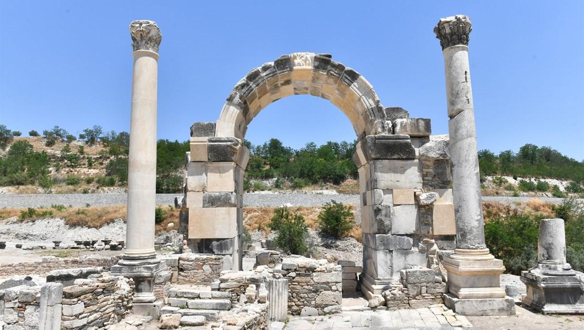 Stratonikeia Antik Kenti'nde Tapınak-2 için kazı çalışmaları başladı