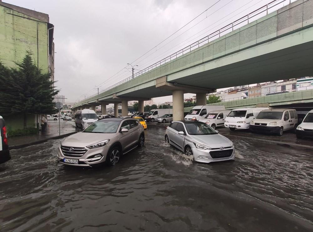 İstanbul'da şiddetli yağış ve dolu - 7