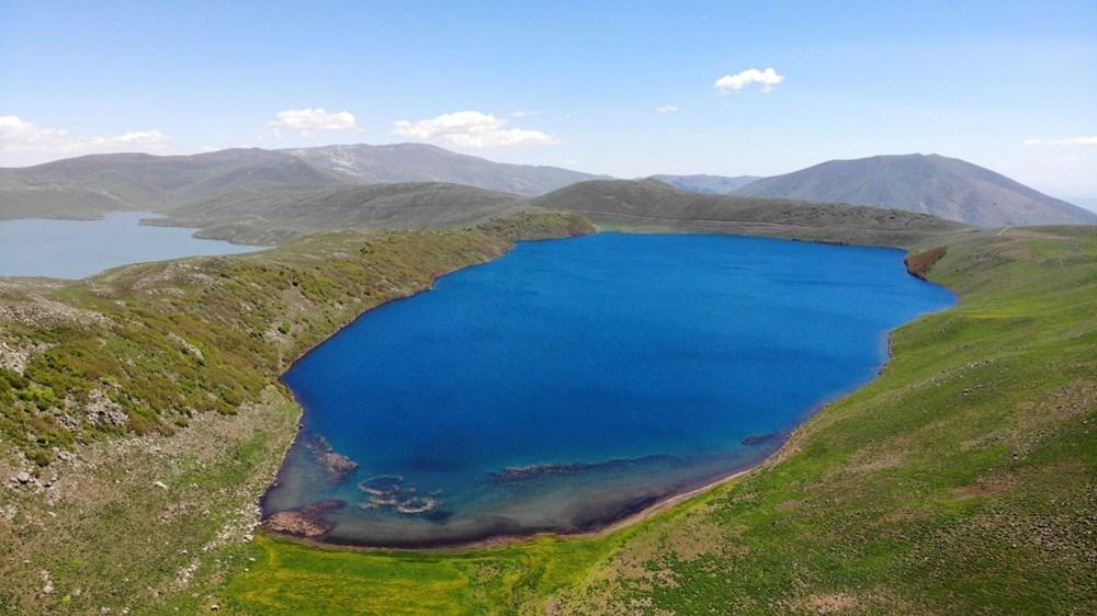 Muş'ta Hamurpet Gölleri görenleri doğasıyla mest ediyor - 6
