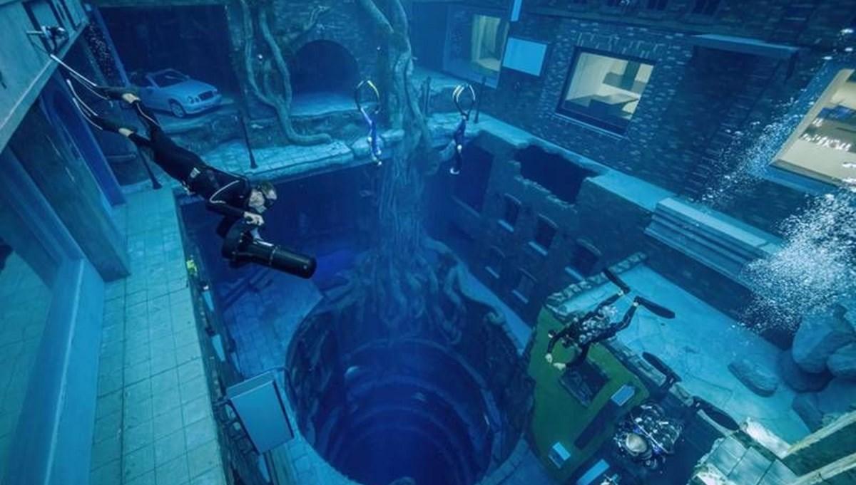 60 metre derinliğe sahip
